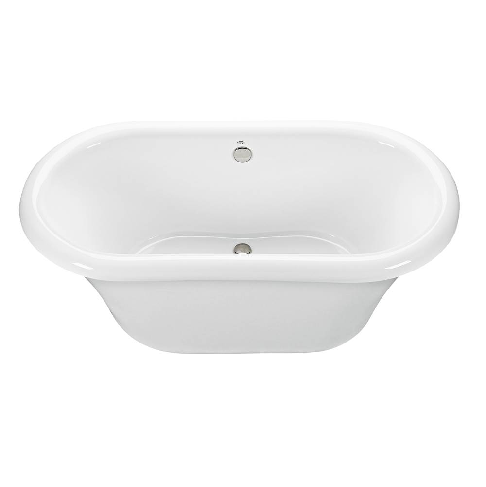 MTI Baths Free Standing Soaking Tubs item S88+BASE88-WH