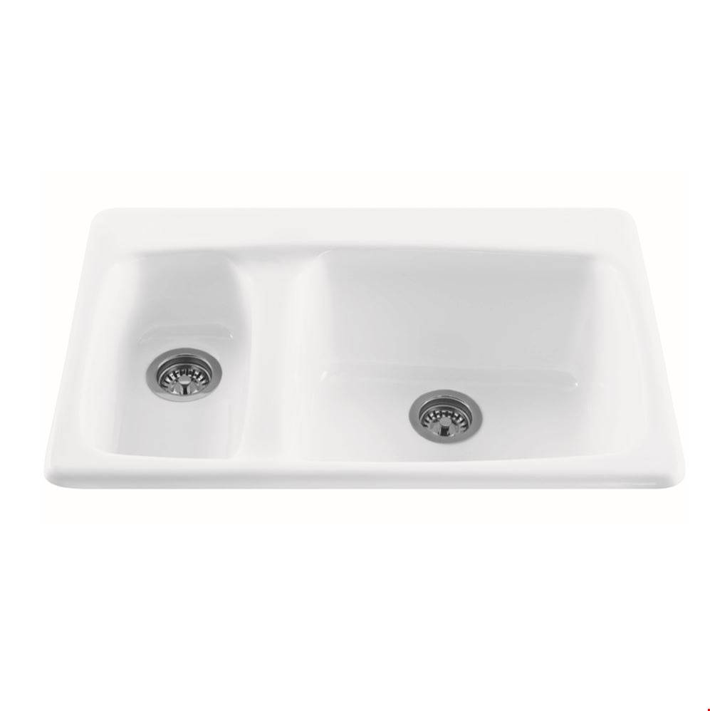 MTI Baths Drop In Kitchen Sinks item MBKS10-AL