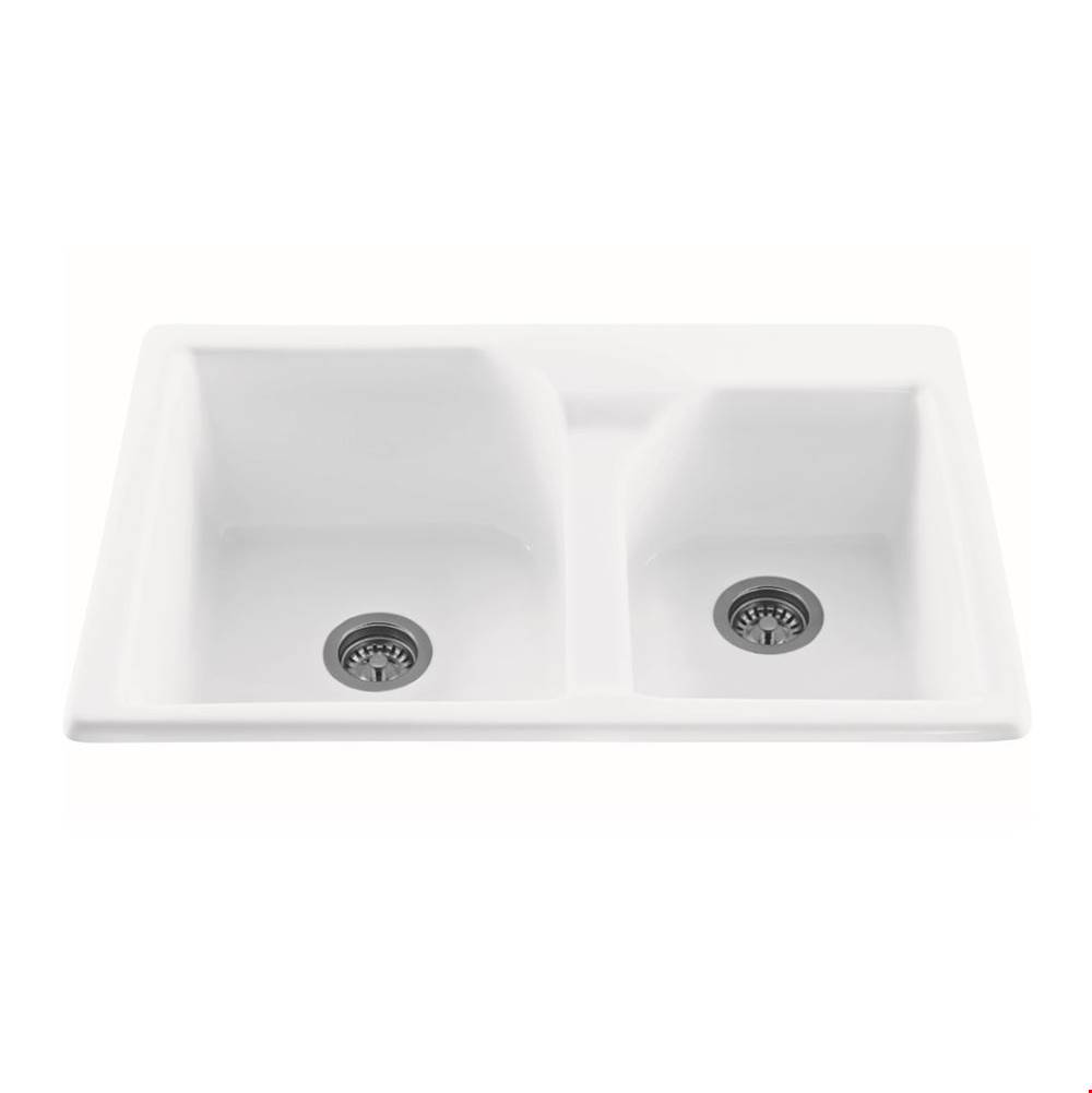 MTI Baths Drop In Kitchen Sinks item MBKS20-BI