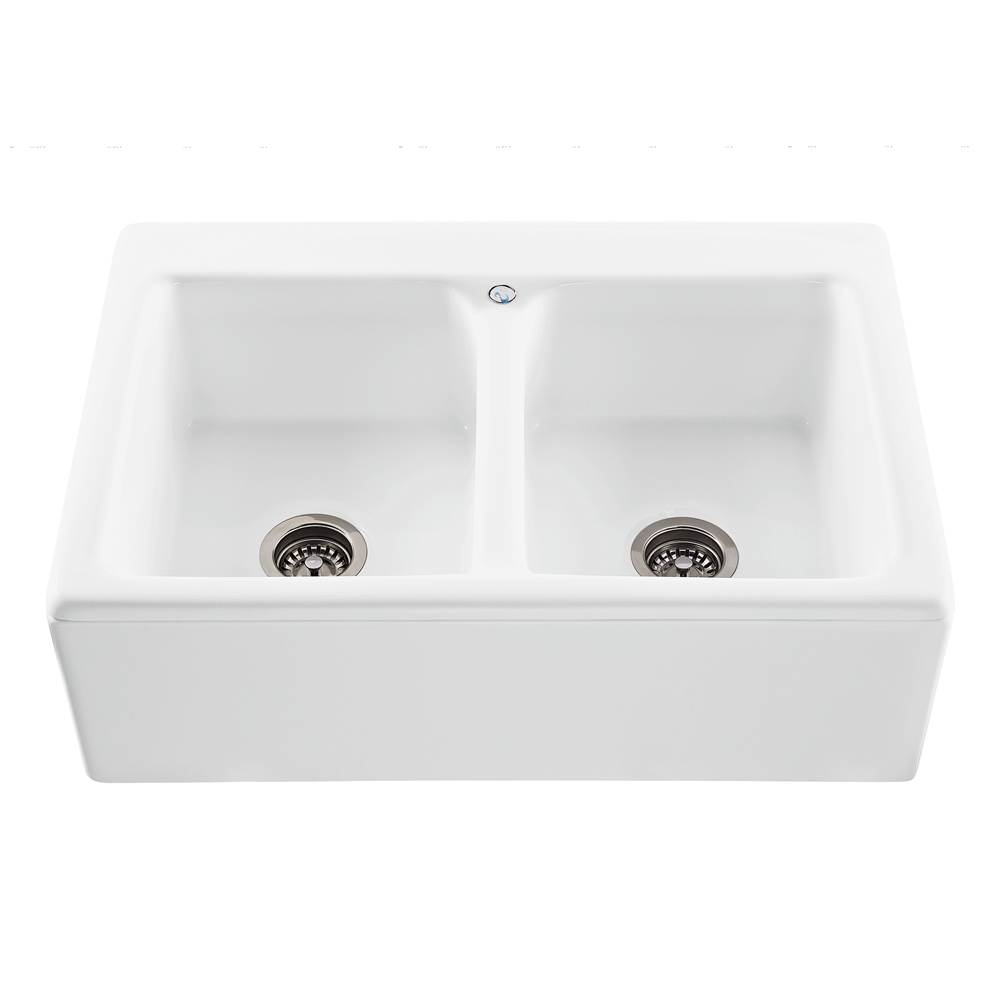 MTI Baths Farmhouse Kitchen Sinks item MBKS230-BI-PL