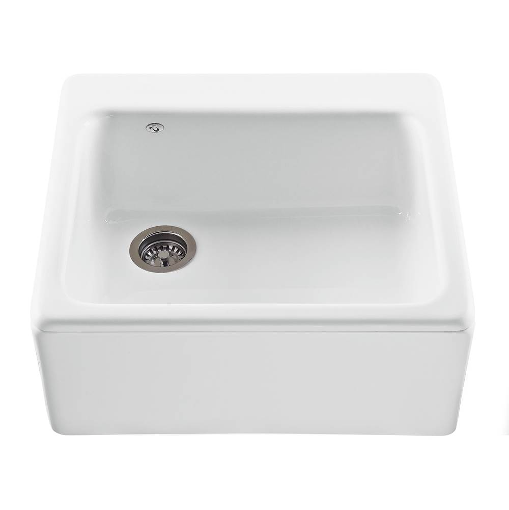 MTI Baths Farmhouse Kitchen Sinks item MBKS240-WH-EM