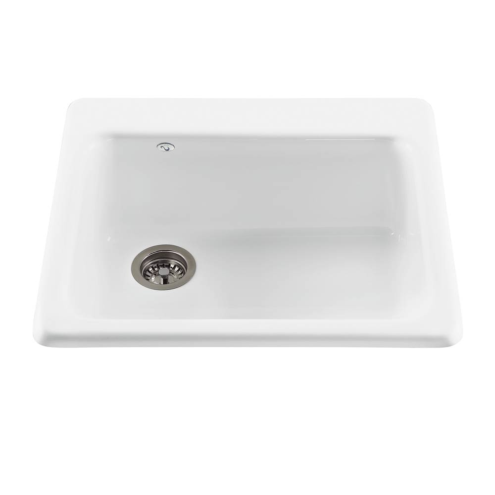 MTI Baths Drop In Kitchen Sinks item MBKS40-AL