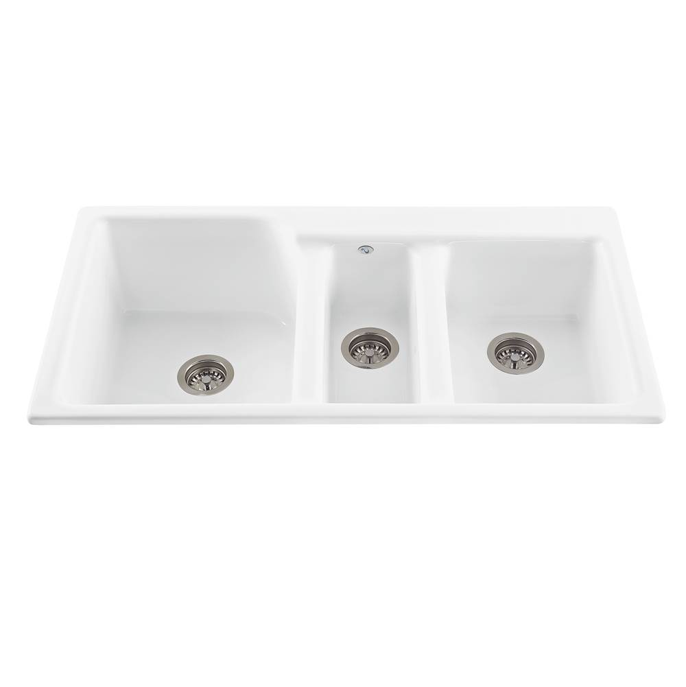 MTI Baths Drop In Kitchen Sinks item MBKS60W