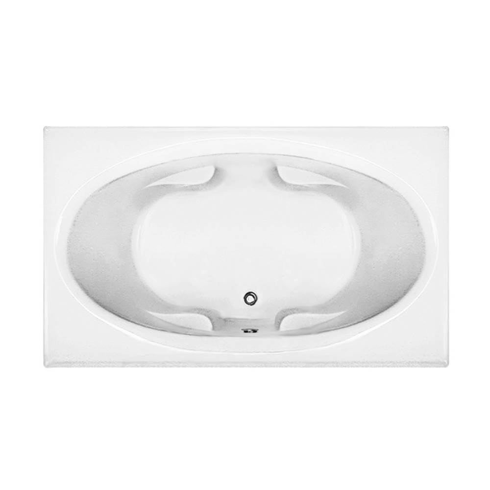 MTI Baths Drop In Soaking Tubs item MBSRO7142C-WH
