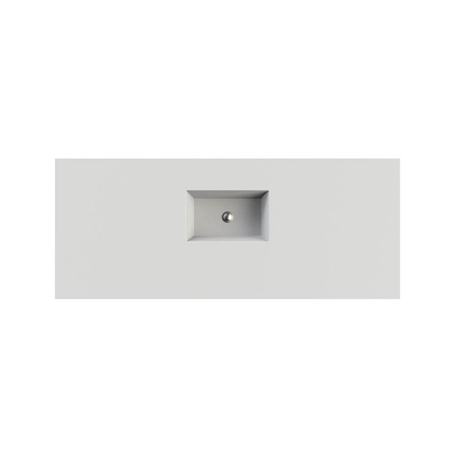 MTI Baths  Bathroom Sinks item C809D62-WH-GL