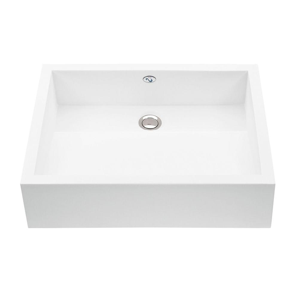 MTI Baths Vessel Bathroom Sinks item MTCS712-WH-MT