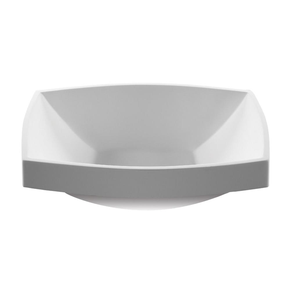 MTI Baths Vessel Bathroom Sinks item MTCS737-WH-MT