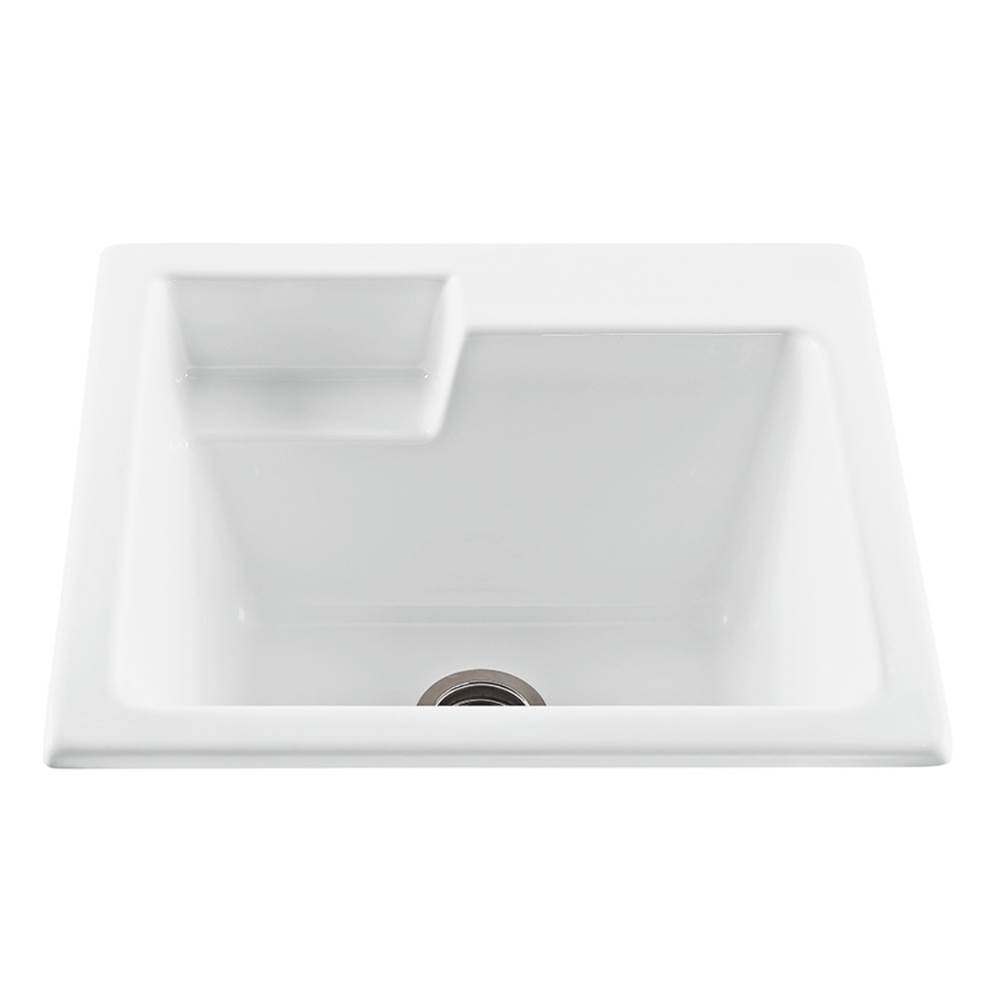 MTI Baths Drop In Laundry And Utility Sinks item MTLS110-AL