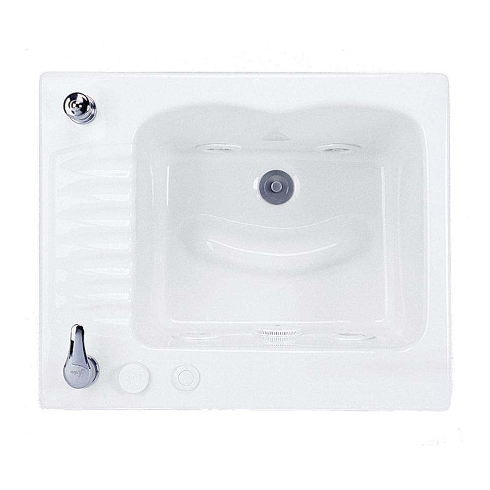 MTI Baths Drop In Whirlpool Bathtubs item MTLS110JPCL-BI