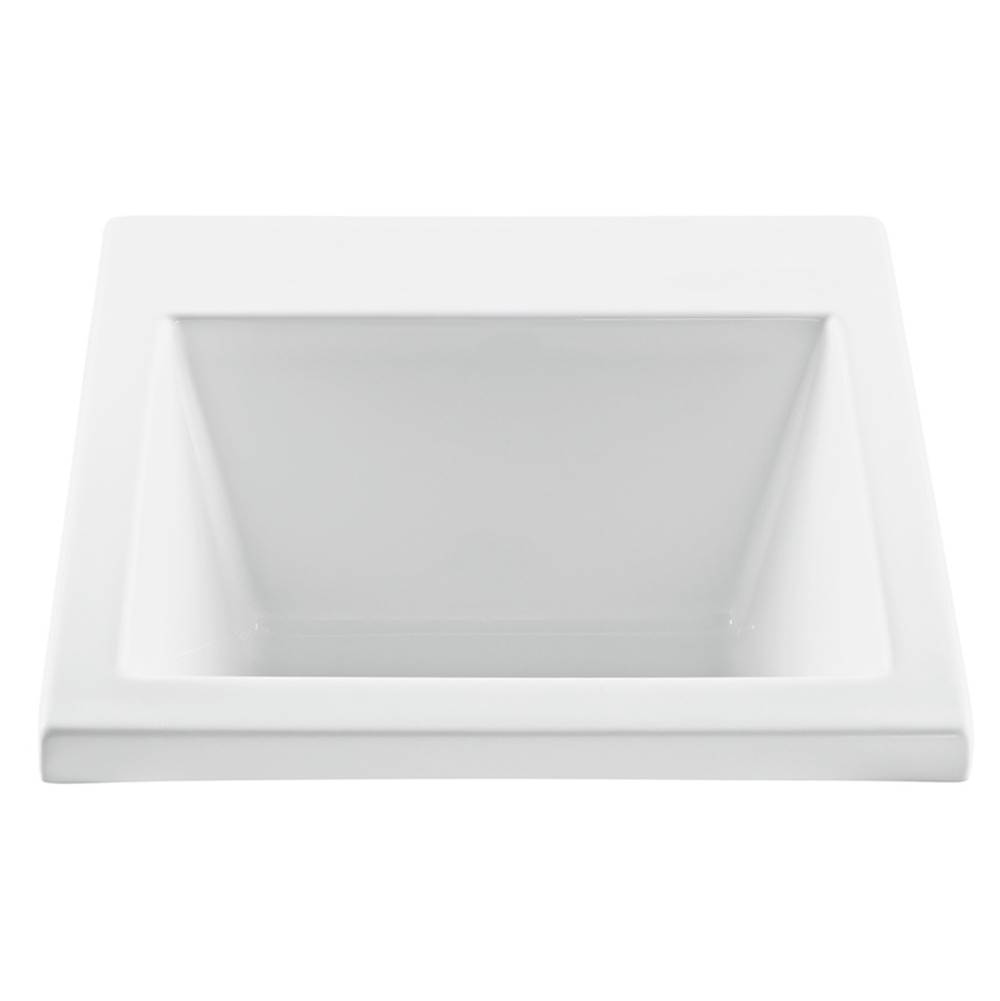 MTI Baths Undermount Laundry And Utility Sinks item MTLS120-WH-UM