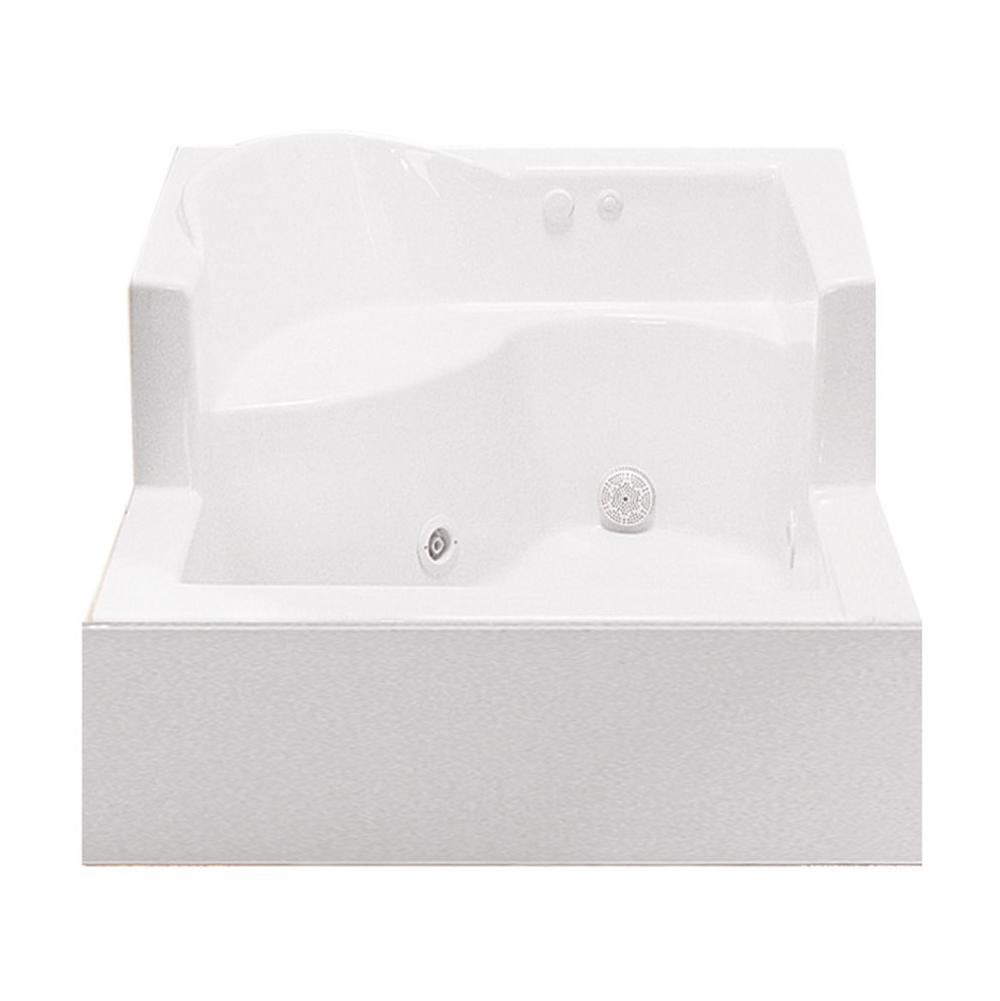 MTI Baths  Shower Bases item SB4848SOAKER-WH