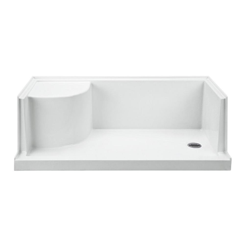 MTI Baths  Shower Bases item SB6030SEATALRH