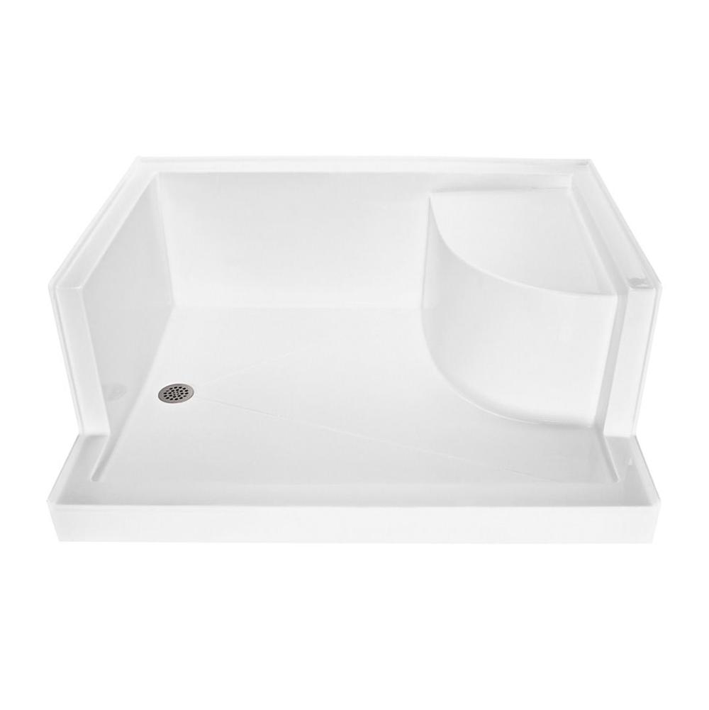 MTI Baths  Shower Bases item SB6048SEATALLH