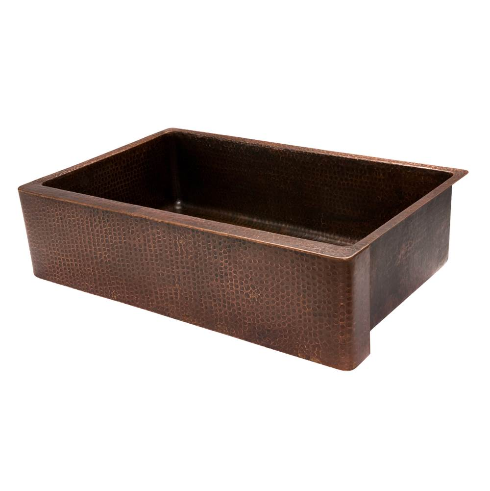 Premier Copper Products Farmhouse Kitchen Sinks item KASDB35229