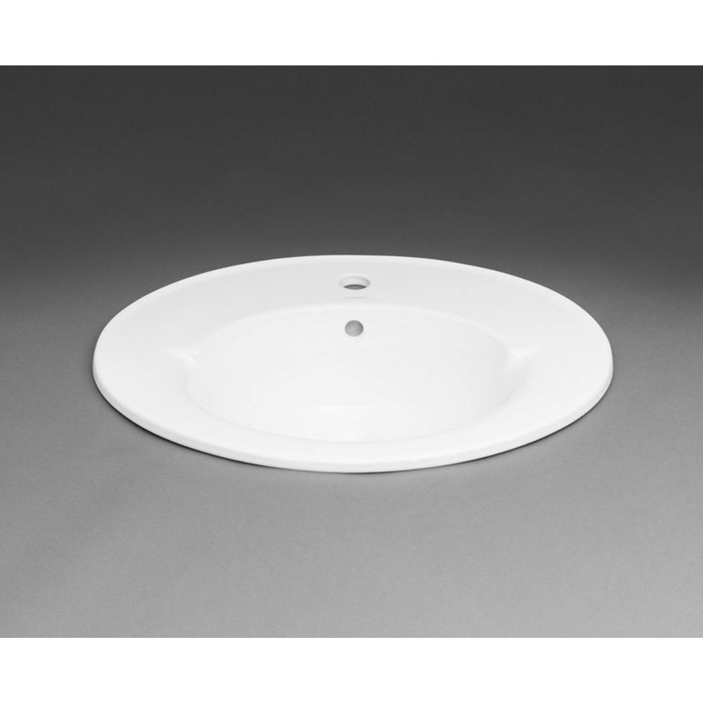 Ronbow Drop In Bathroom Sinks item 218023-8-WH