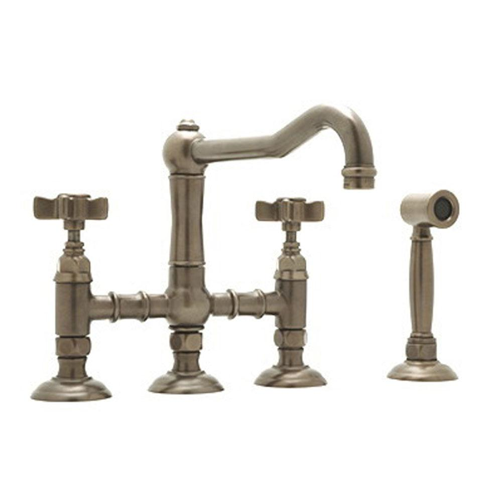 Rohl Bridge Kitchen Faucets item A1458XWSPN-2