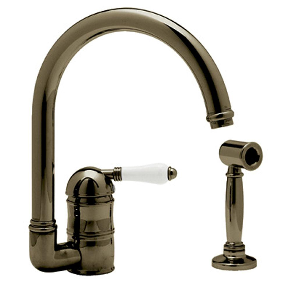 Rohl Deck Mount Kitchen Faucets item A3606LMWSTCB-2