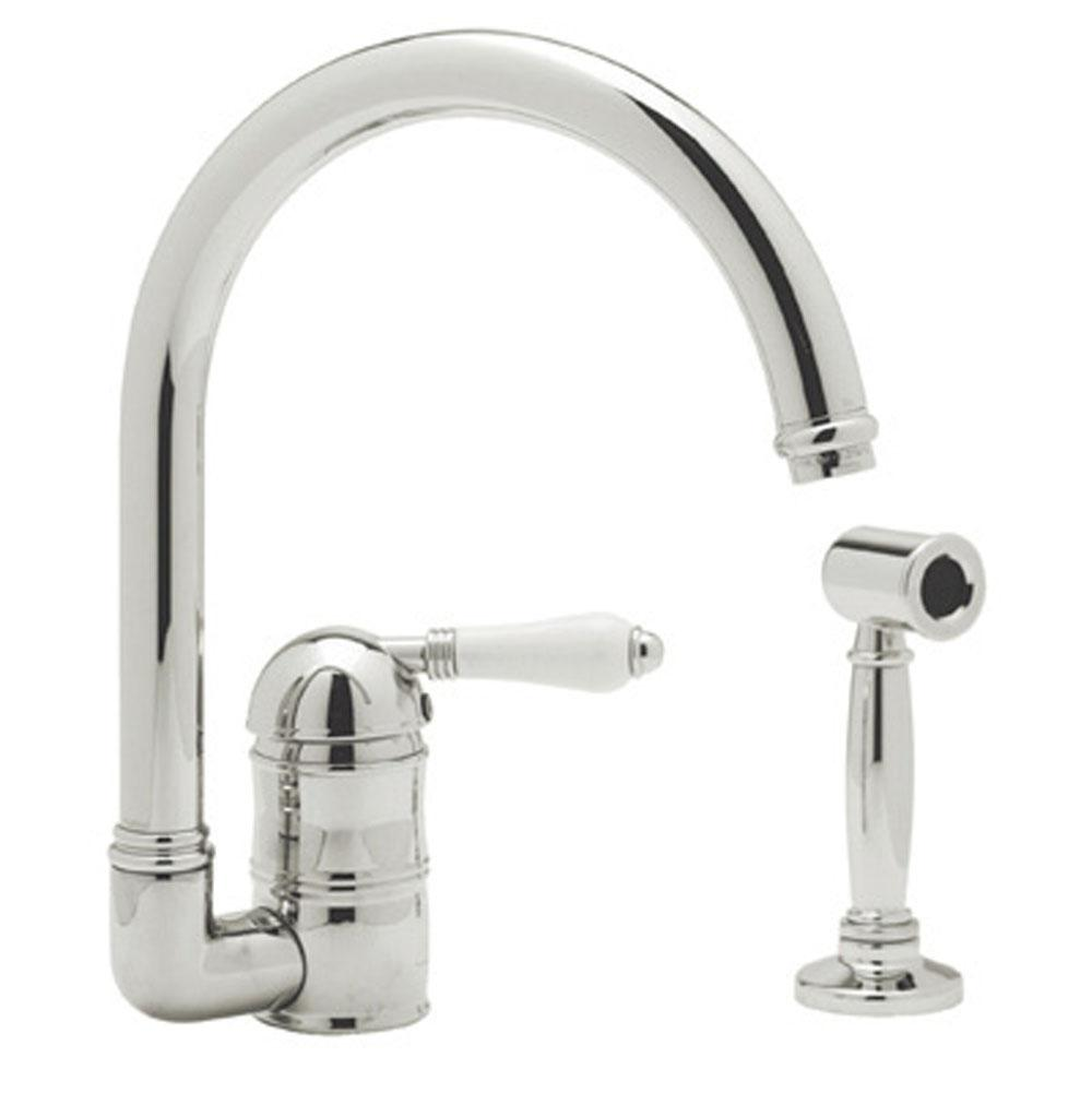 Rohl Deck Mount Kitchen Faucets item A3606LPWSPN-2