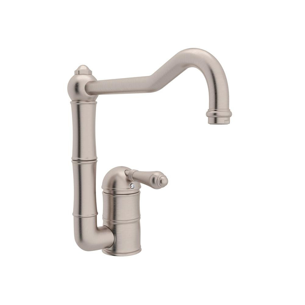 Rohl Single Hole Kitchen Faucets item A3608LMSTN-2