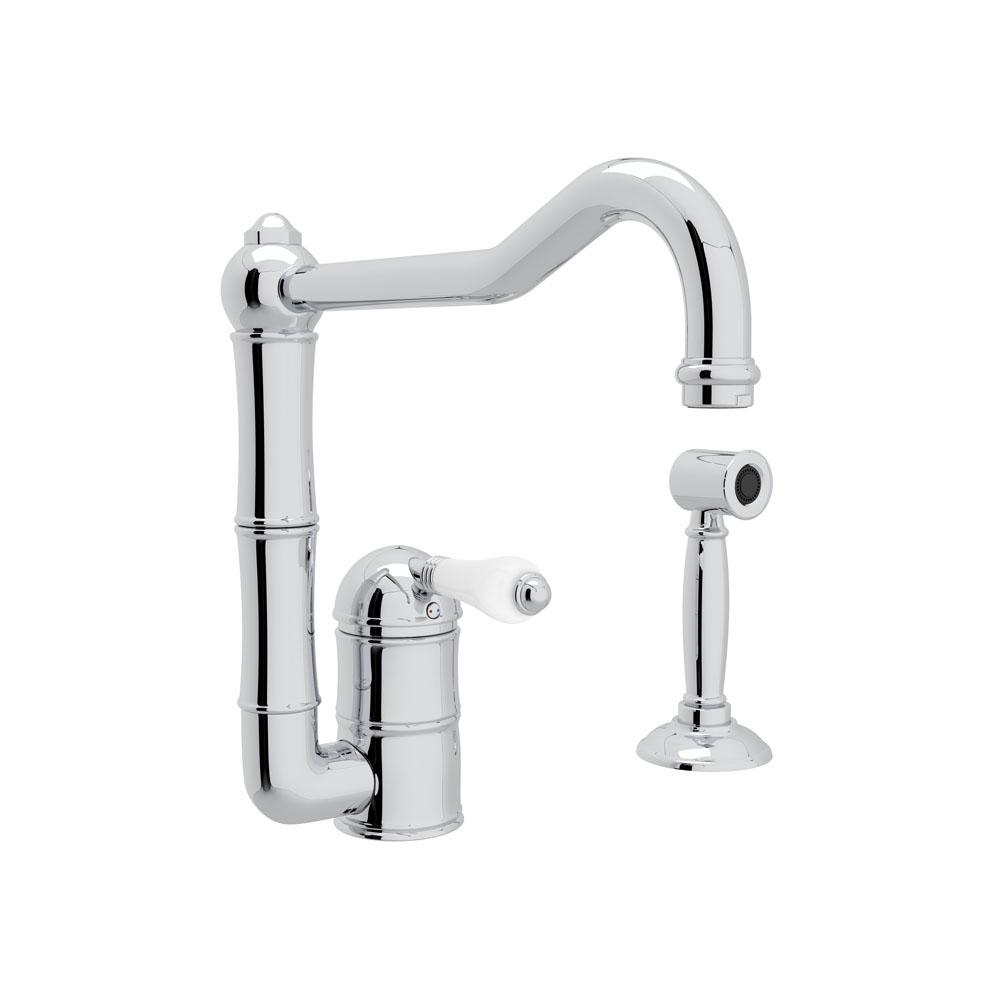 Rohl Deck Mount Kitchen Faucets item A3608LPAPC-2