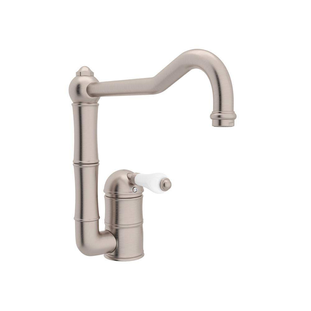 Rohl Single Hole Kitchen Faucets item A3608LPSTN-2
