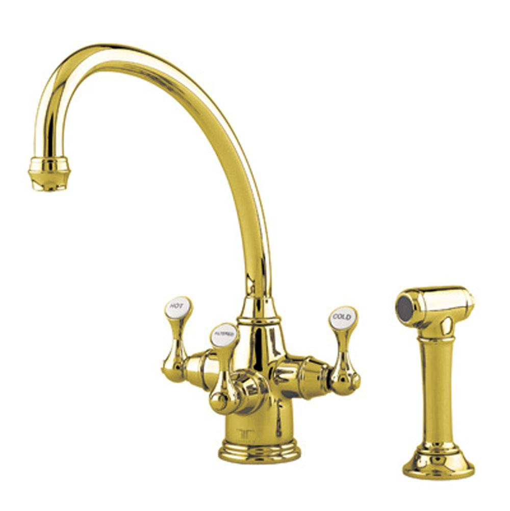 Rohl Deck Mount Kitchen Faucets item U.1520LS-IB-2