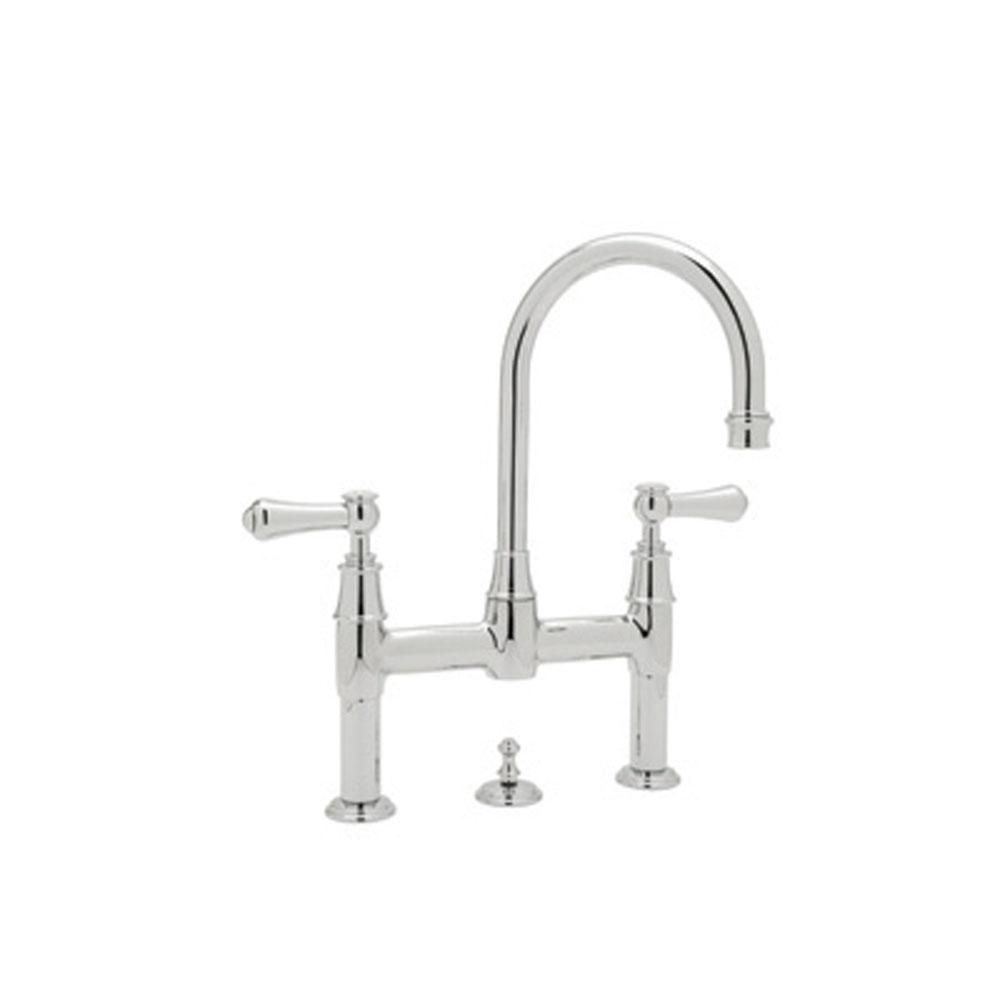 Rohl Bridge Bathroom Sink Faucets item U.3708LS-IB-2