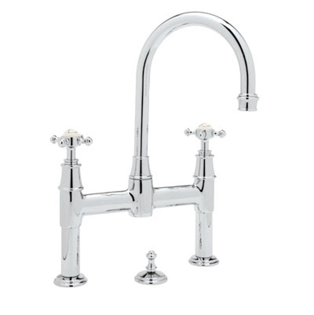 Rohl Bridge Bathroom Sink Faucets item U.3709X-APC-2