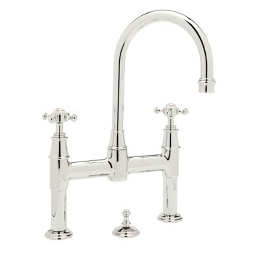 Rohl Bridge Bathroom Sink Faucets item U.3709X-PN-2