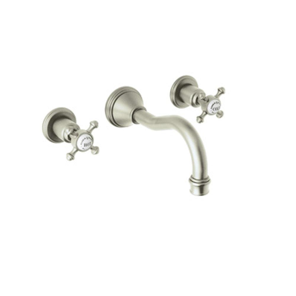 Rohl Wall Mounted Bathroom Sink Faucets item U.3794X-STN-2