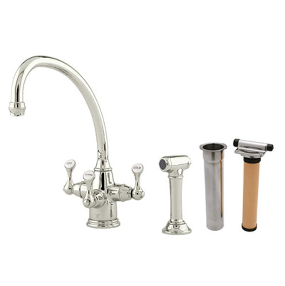 Rohl Deck Mount Kitchen Faucets item U.KIT1520LS-PN-2