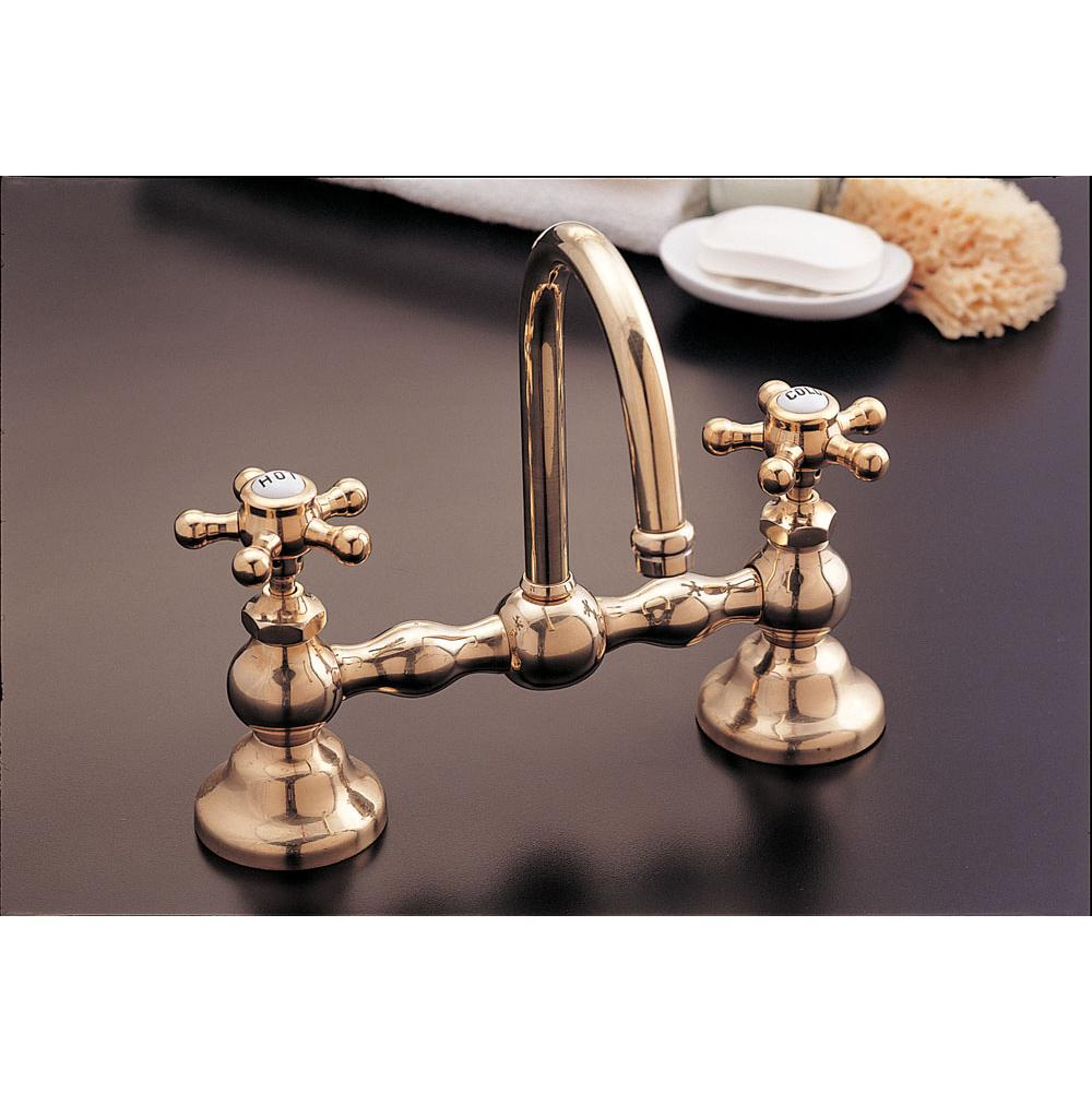 Sign Of The Crab Bridge Bathroom Sink Faucets item P0558-8Z