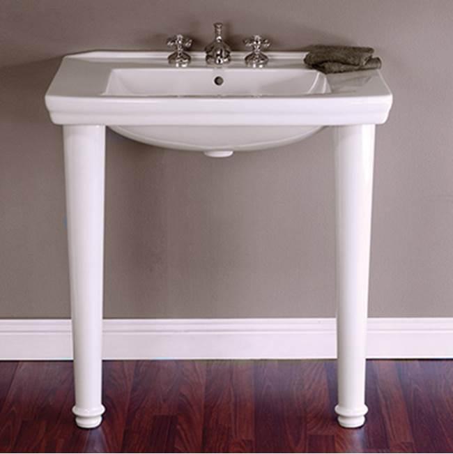 Sign Of The Crab Floor Standing Bathroom Sinks Item P1121L