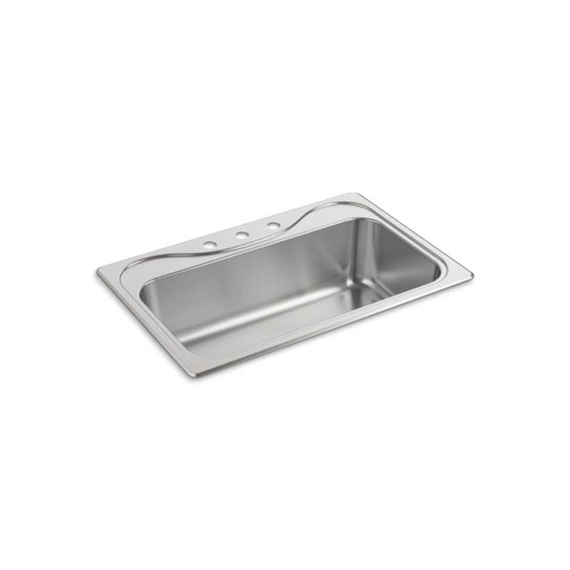 Sterling Plumbing Drop In Kitchen Sinks item 37047-3-NA