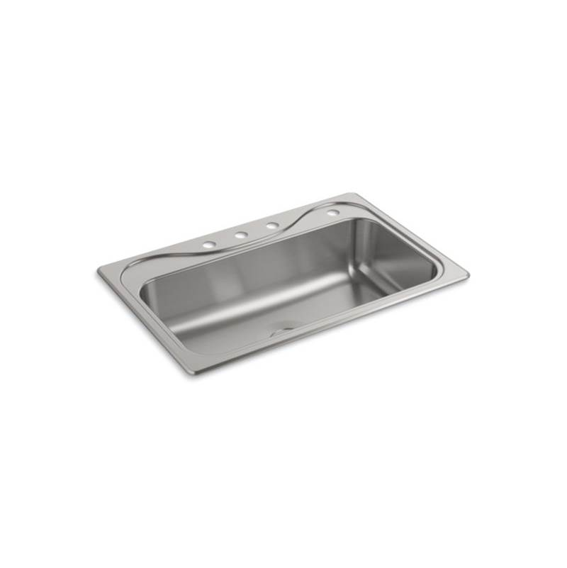 Sterling Plumbing Drop In Kitchen Sinks item 24912-4-NA