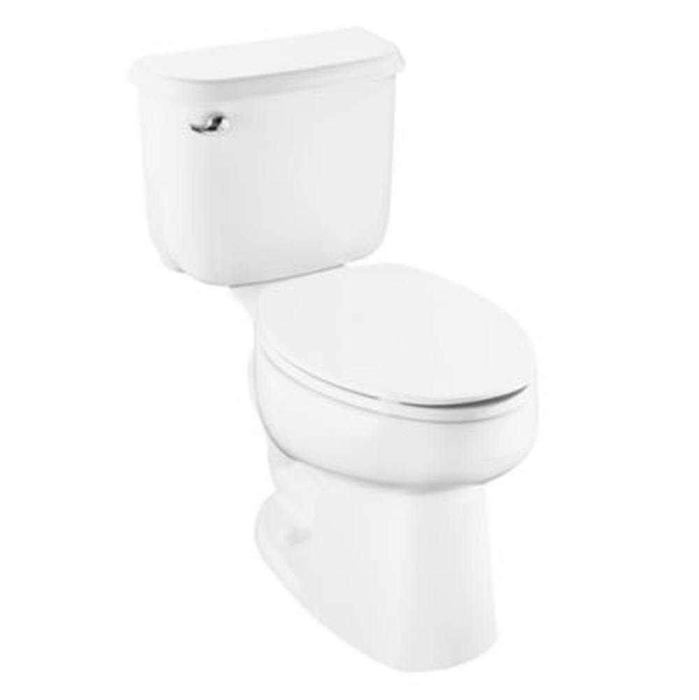 Biscuit STERLING 402015-96 Windham 12-Inch Rough-in Round Front Toilet