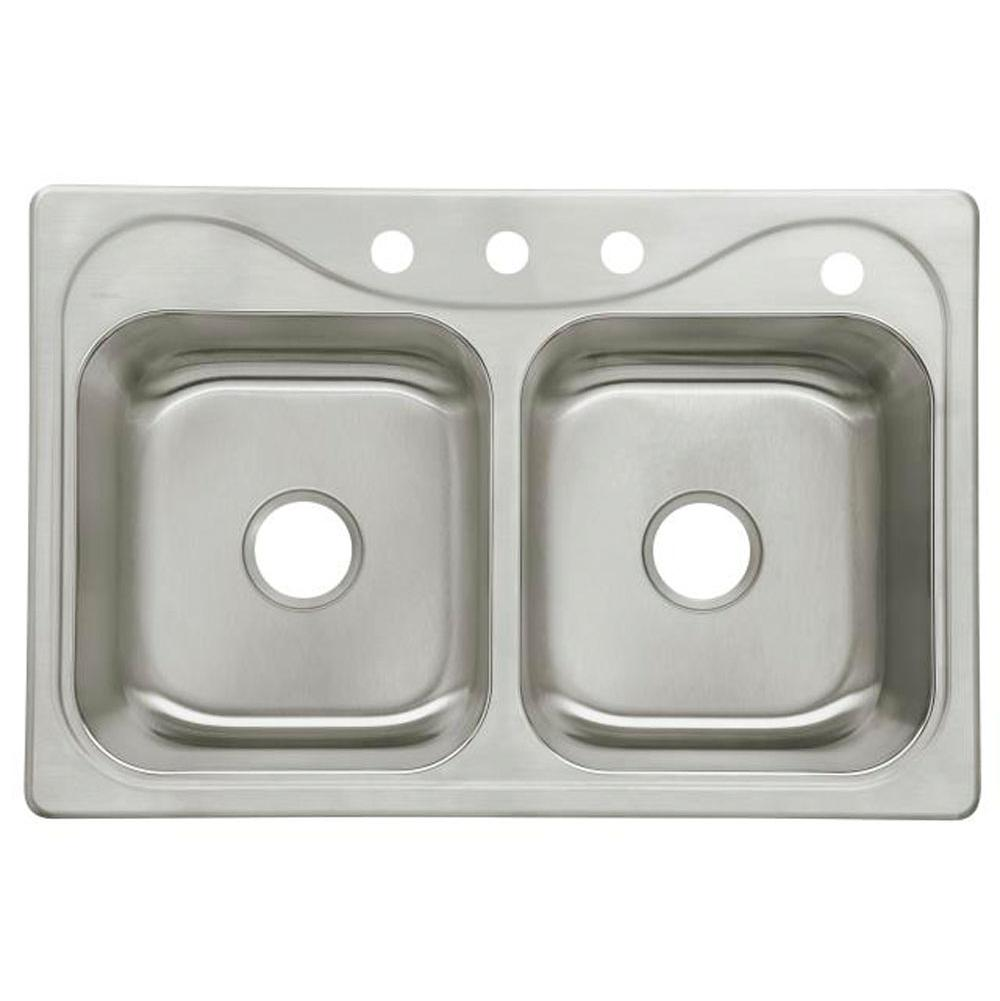 Sterling Plumbing Drop In Kitchen Sinks item 11850-4-NA