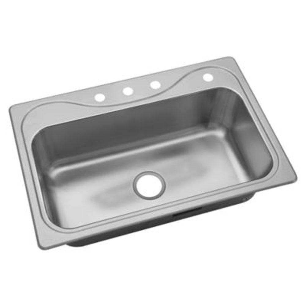 Sterling Plumbing Drop In Kitchen Sinks item 37047-4-NA