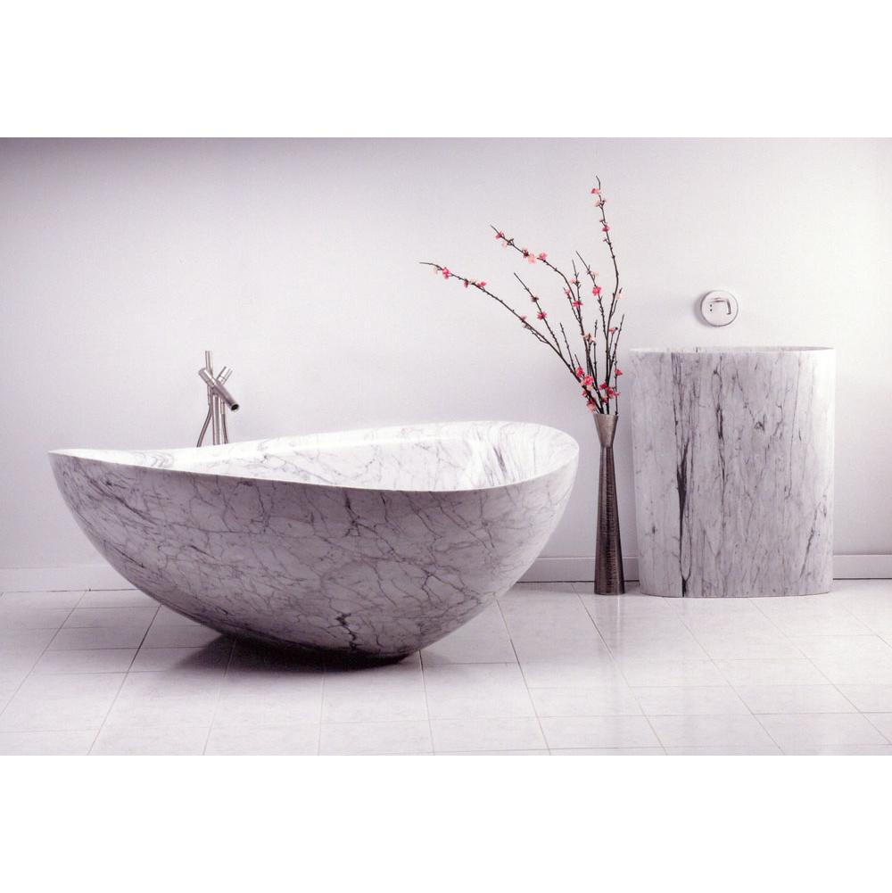 Stone Forest Free Standing Soaking Tubs item C46-68 BL