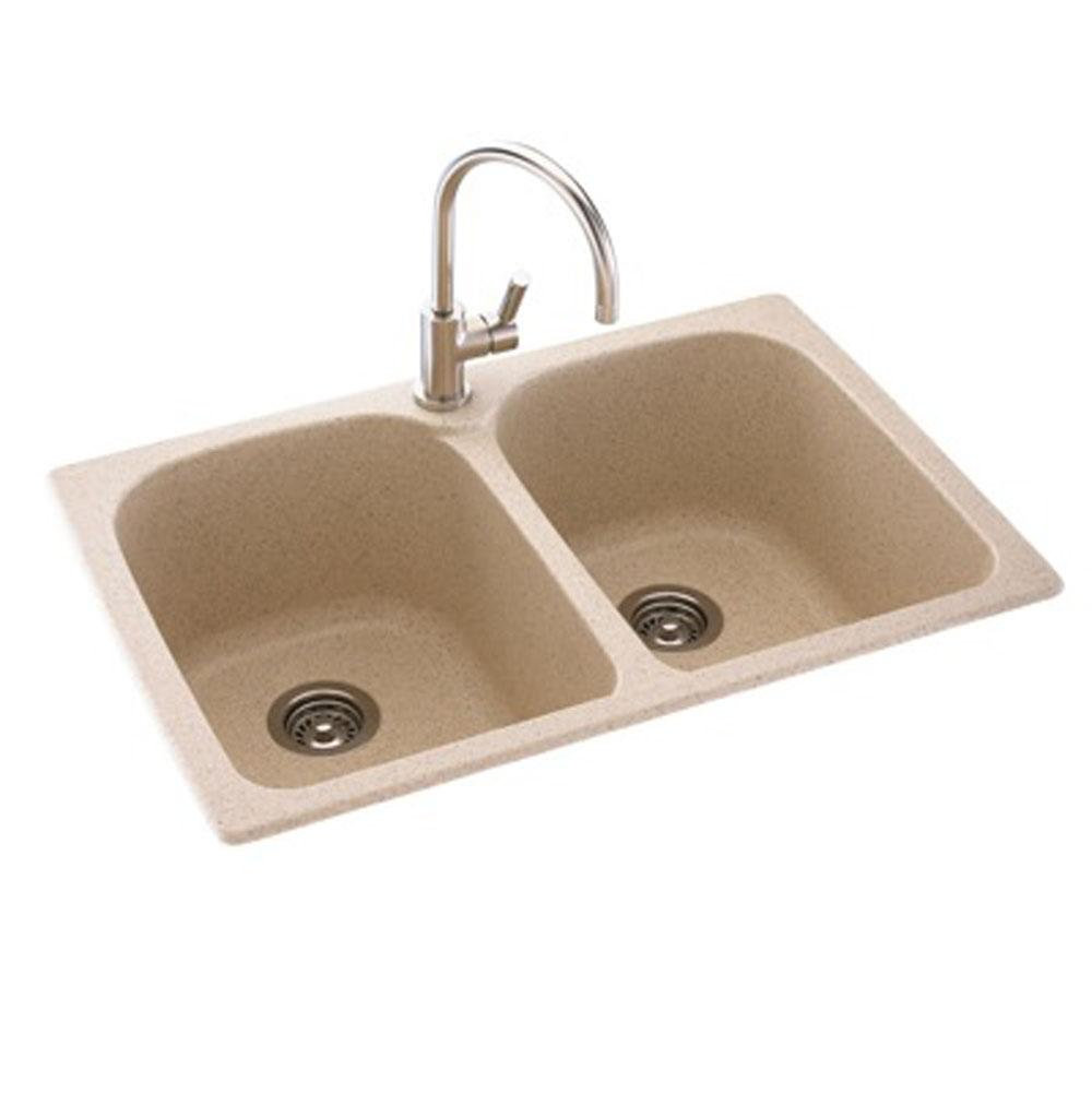 Swan Drop In Kitchen Sinks item KS02233LB.124