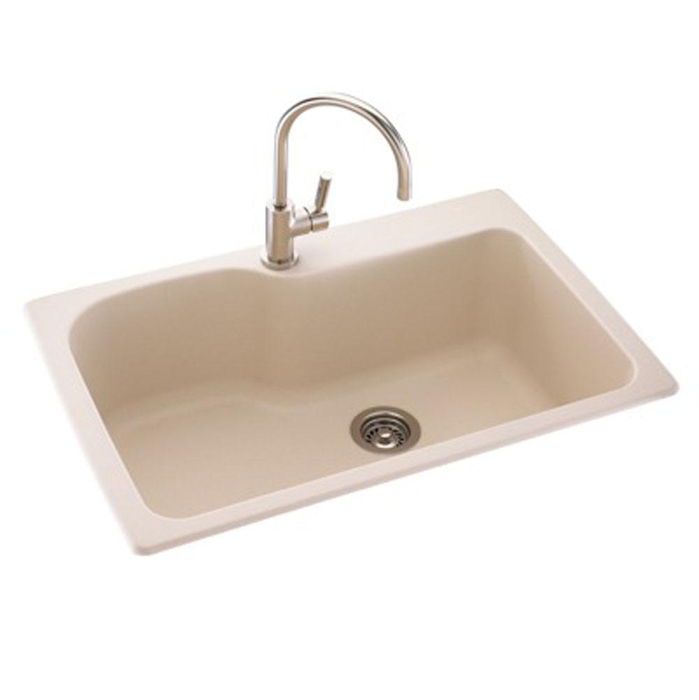 Swan Drop In Kitchen Sinks item KS03322SB.124