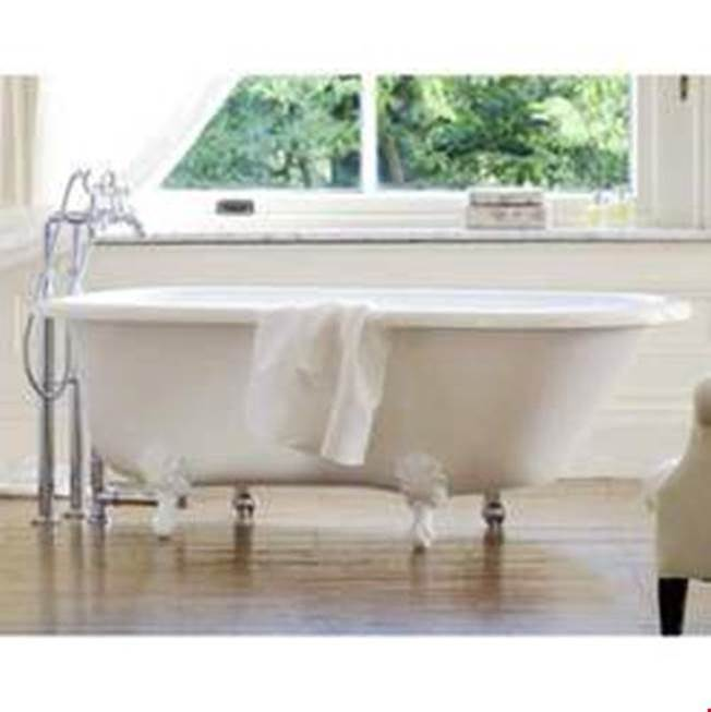 Victoria And Albert Clawfoot Soaking Tubs item WES-N-xx-OF + FT-HAM-PN