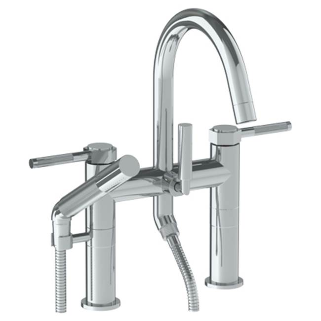 Watermark Deck Mount Roman Tub Faucets With Hand Showers item 111-8.2-SP4-PVD