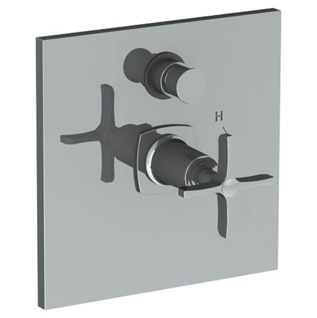 Watermark Pressure Balance Trims With Integrated Diverter Shower Faucet Trims item 115-P90-MZ4-UPB