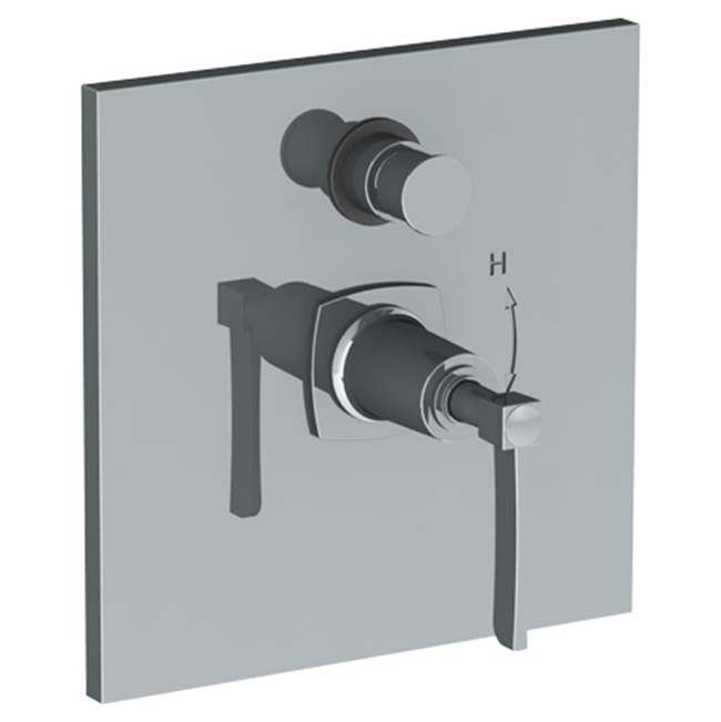 Watermark Pressure Balance Trims With Integrated Diverter Shower Faucet Trims item 115-P90-MZ5-ORB