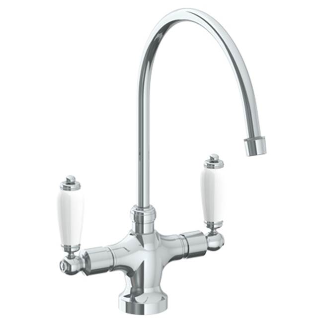 Watermark Deck Mount Kitchen Faucets item 180-7.2-DD-WH