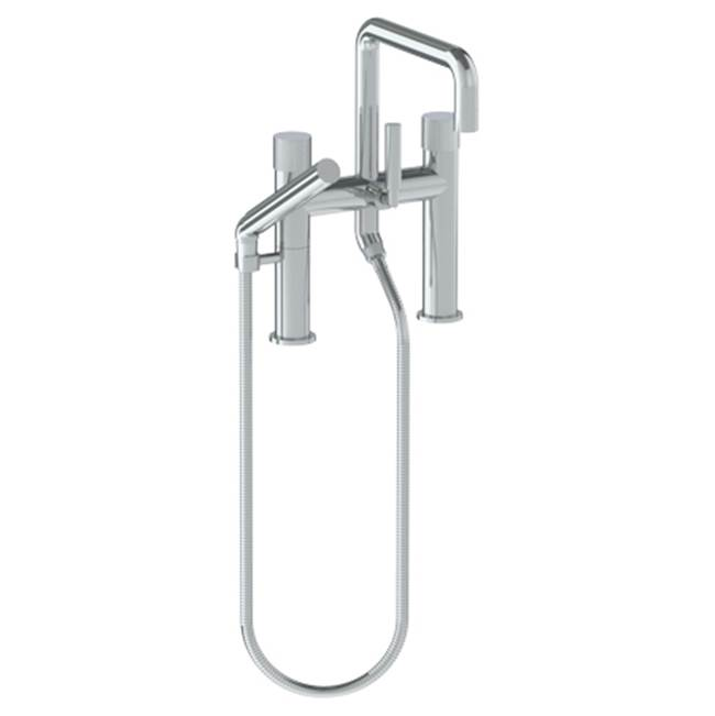 Watermark Deck Mount Roman Tub Faucets With Hand Showers item 22-8.26.2-TIA-AB