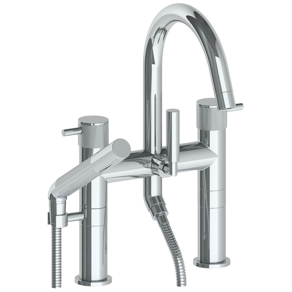 Watermark Deck Mount Roman Tub Faucets With Hand Showers item 22-8.2-TIC-SEL