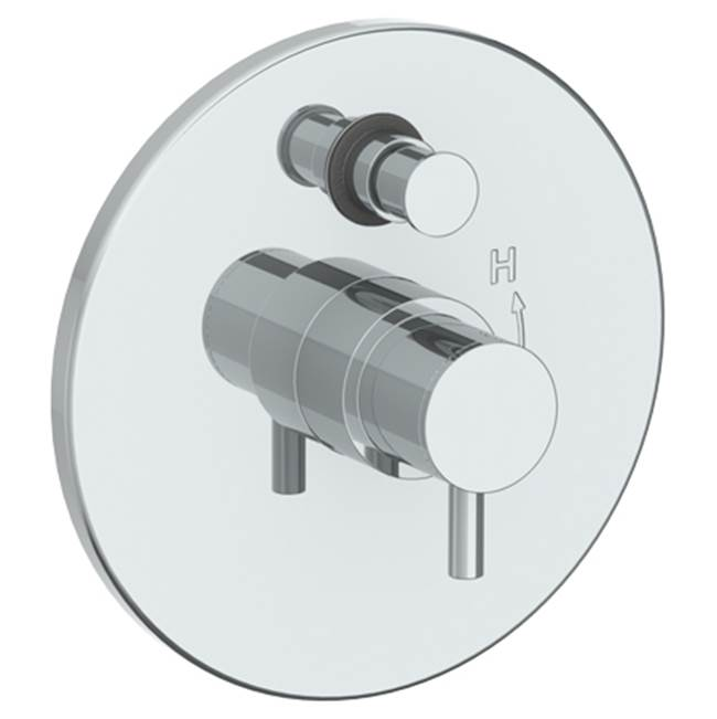 Watermark Pressure Balance Trims With Integrated Diverter Shower Faucet Trims item 22-P90-TIB-WH