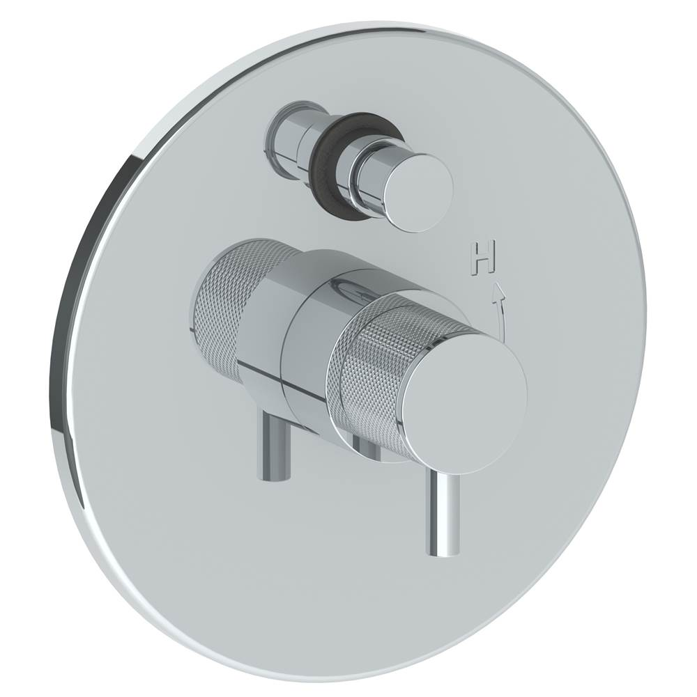 Watermark Pressure Balance Trims With Integrated Diverter Shower Faucet Trims item 22-P90-TIC-MB